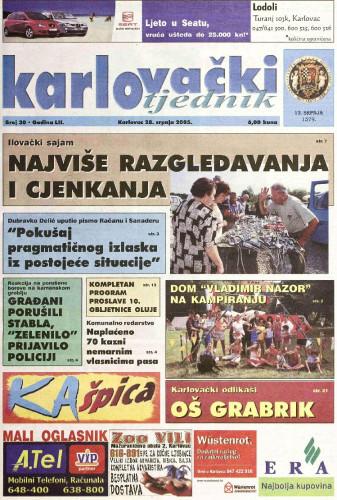 Karlovački tjednik: 2005 • 30