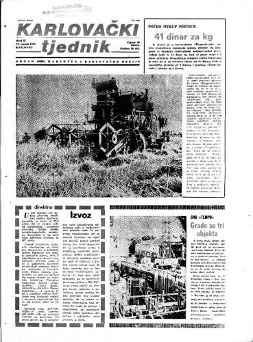 Karlovački tjednik: 1985 • 27
