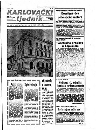 Karlovački tjednik: 1984 • 32