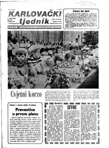 Karlovački tjednik: 1983 • 21