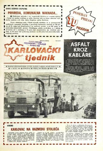 Karlovački tjednik: 1989 • 37