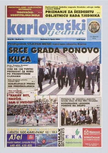 Karlovački tjednik: 2004 • 22