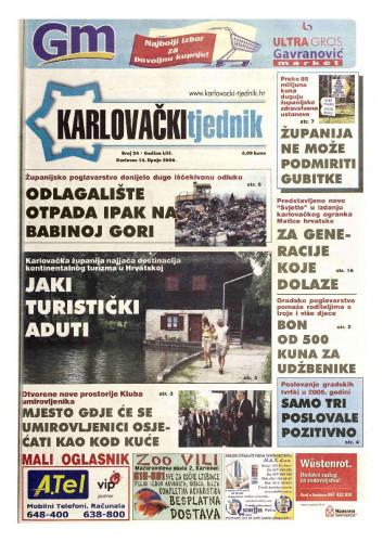 Karlovački tjednik: 2006 • 24