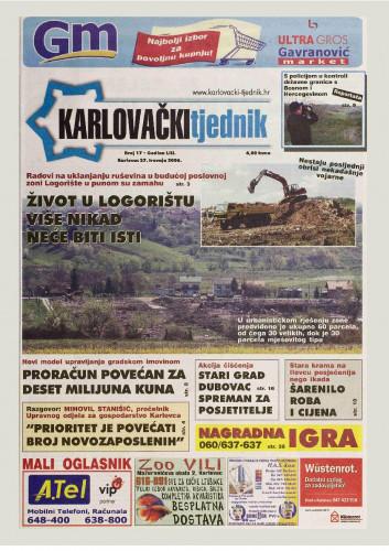 Karlovački tjednik: 2006 • 17