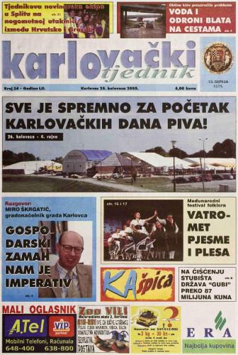 Karlovački tjednik: 2005 • 34