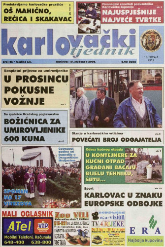 Karlovački tjednik: 2005 • 45