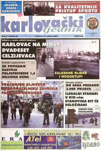 Karlovački tjednik: 2005 • 6