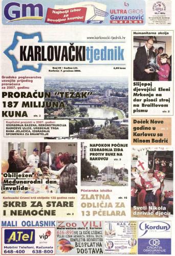 Karlovački tjednik: 2006 • 49