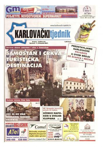 Karlovački tjednik: 2007 • 41