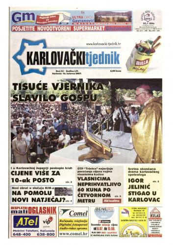 Karlovački tjednik: 2007 • 33