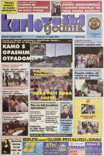 Karlovački tjednik: 2002 • 24