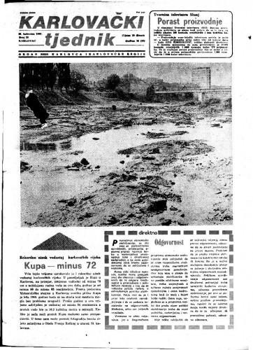 Karlovački tjednik: 1983 • 33