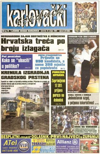 Karlovački tjednik: 2001 • 11