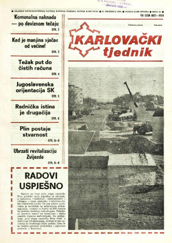 Karlovački tjednik: 1989 • 51