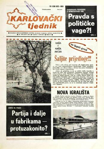 Karlovački tjednik: 1990 • 8