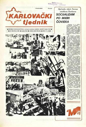Karlovački tjednik: 1989 • 17/18