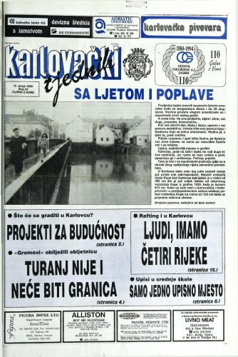 Karlovački tjednik: 1994 • 24