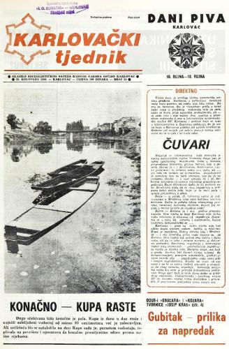 Karlovački tjednik: 1988 • 34