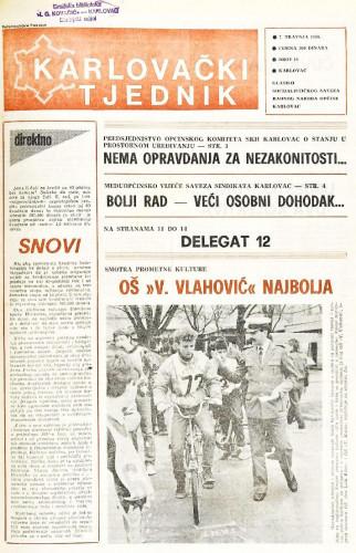Karlovački tjednik: 1988 • 14