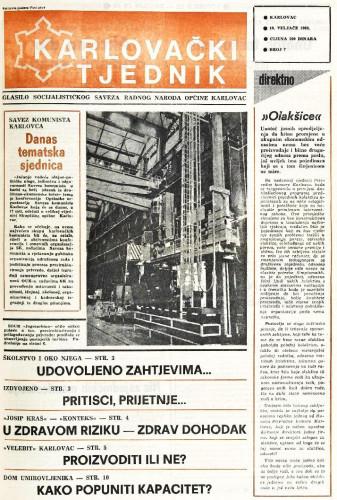 Karlovački tjednik: 1988 • 7