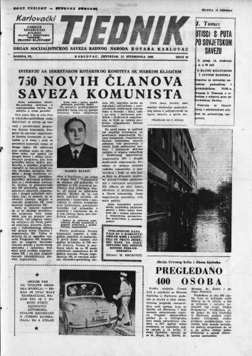Karlovački tjednik: 1958 • 46