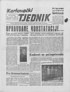 Karlovački tjednik: 1957 • 16