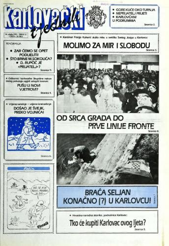 Karlovački tjednik: 1992 • 12