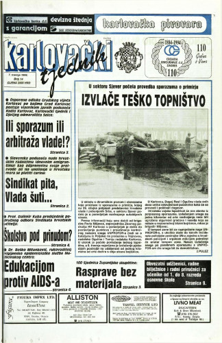 Karlovački tjednik: 1994 • 14