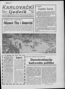 Karlovački tjednik: 1985 • 20