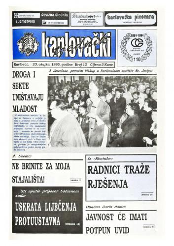 Karlovački tjednik: 1995 • 12