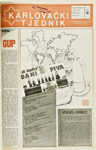 Karlovački tjednik: 1987 • 35
