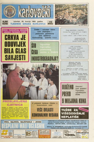 Karlovački tjednik: 1998 • 15