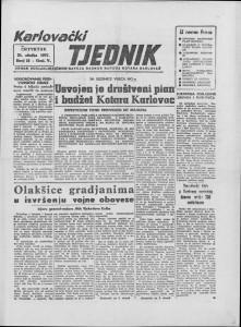 Karlovački tjednik: 1957 • 13
