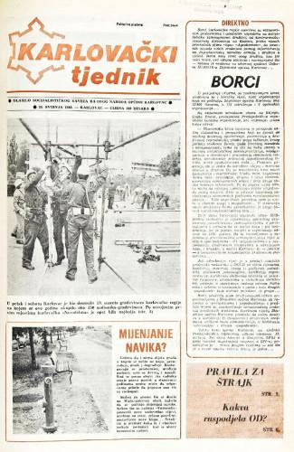 Karlovački tjednik: 1988 • 21