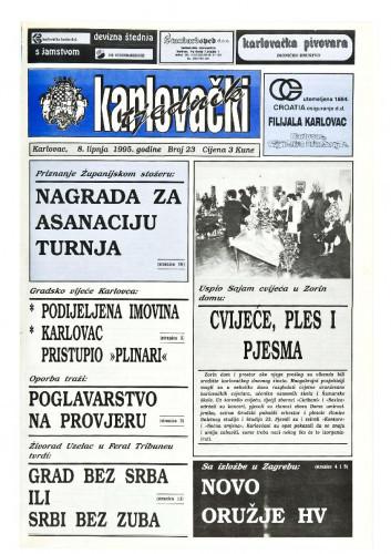 Karlovački tjednik: 1995 • 23