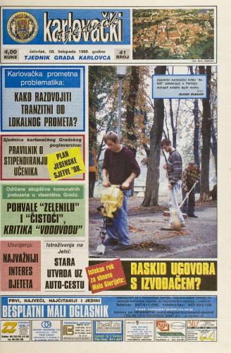 Karlovački tjednik: 1998 • 41