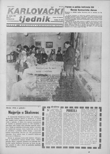 Karlovački tjednik: 1983 • 9