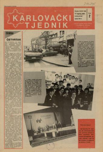 Karlovački tjednik: 1988 • 2