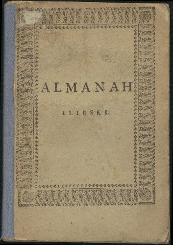 Almanah ilirski za godinu 1823.