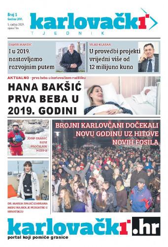 Karlovački tjednik: 2019 • 1