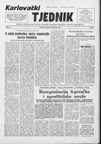 Karlovački tjednik: 1954 • 5
