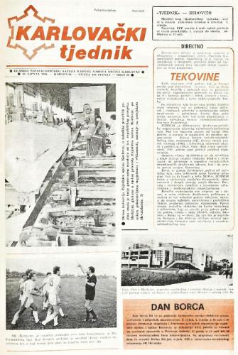 Karlovački tjednik: 1988 • 26