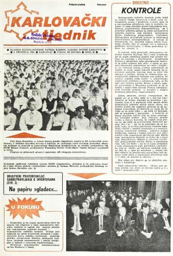 Karlovački tjednik: 1988 • 48
