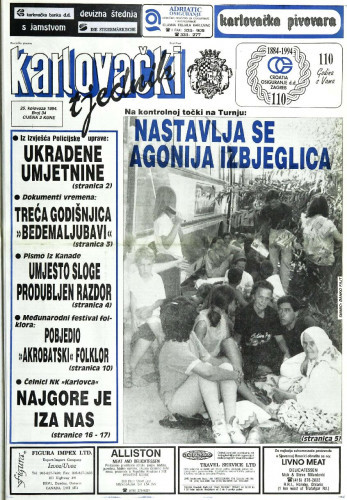 Karlovački tjednik: 1994 • 34