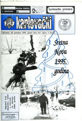 Karlovački tjednik: 1994 • 52