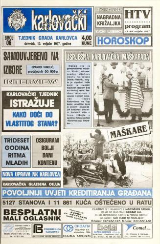 Karlovački tjednik: 1997 • 6