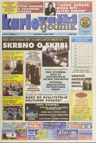 Karlovački tjednik: 2003 • 06