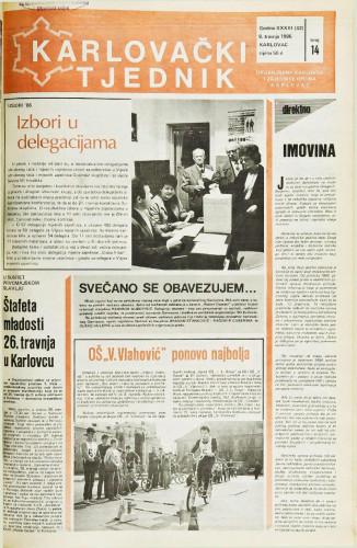 Karlovački tjednik: 1986 • 14