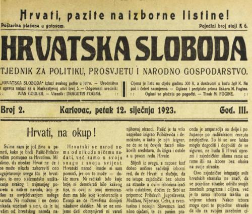 Hrvatska sloboda