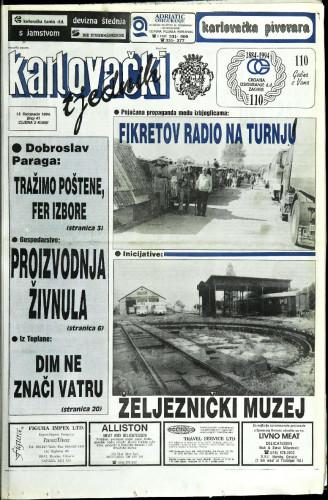 Karlovački tjednik: 1994 • 41